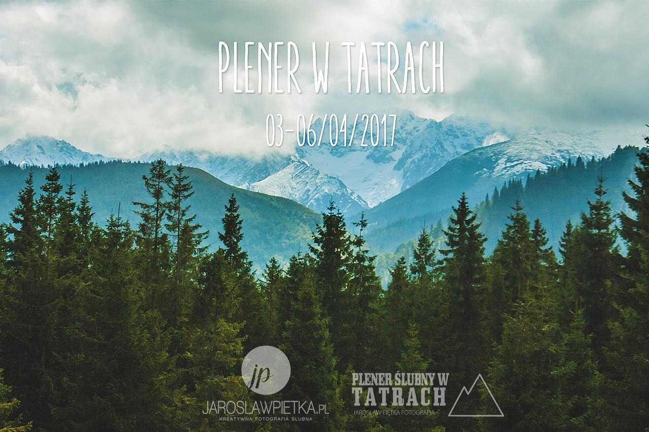 Plener ślubny w Tatrach - wiosna