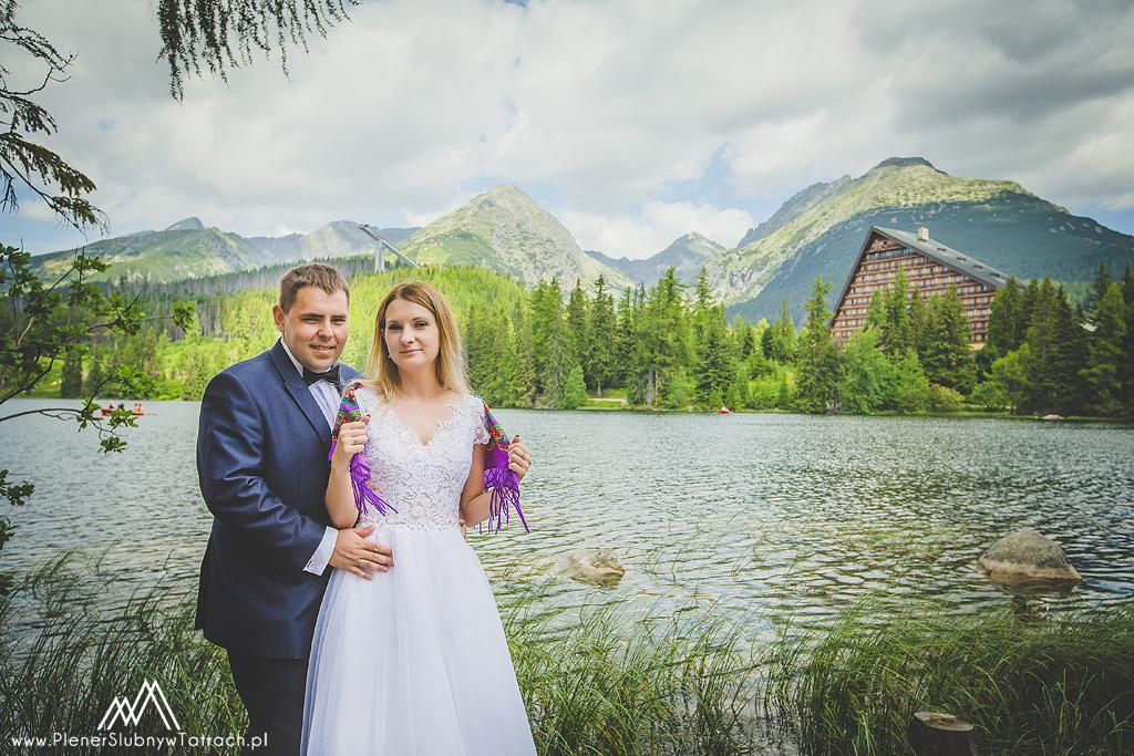 Plener ślubny w górach