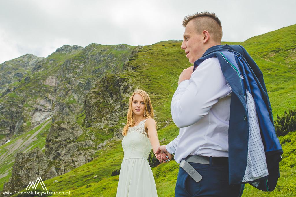 plener ślubny na Kasprowym Wierchu